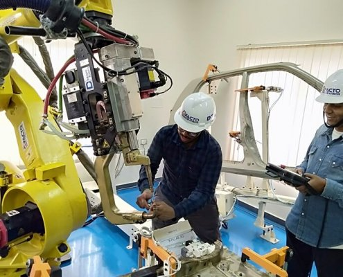 training trainee robot 4